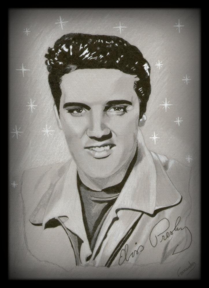 Elvis Presley por Clint
